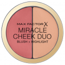 Blush cremos si iluminator Max Factor Miracle Cheek Duo   30 Dusky Pink & Copper