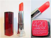 Ruj Maybelline Colour Sensational - Coral Pop