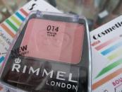 Blush Rimmel Lasting Finish Blendable powder blush - Pink sorbet