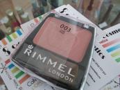 Blush Rimmel Lasting Finish Blendable powder blush - Pink rose