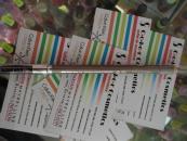 Creion sprancene cu perie W7 Deluxe - Blonde