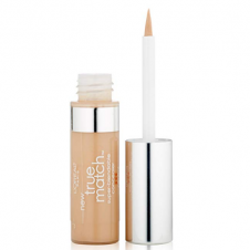 Corector lichid, adaptabil la nuanta tenului, L'Oreal True Match Concealer 3 Cream