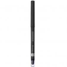 Creion dermatograf retractabil rezistent la apa Rimmel Exaggerate Eye Definer Pencil -Starlit Black