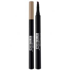Creion sprancene cu 3 varfuri fine Maybelline Tattoo Brow Micro Blade Pen 100 Blonde