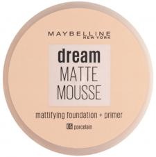 Fond de ten cu primer cu efect mat Maybelline Dream Matte Mousse Foundation + Primer 05 Porcelain