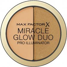 Iluminator si corector compact Max Factor Miracle Glow Duo Pro Illuminator 30 Deep