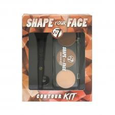 Kit pentru conturarea fetei W7 Shape Your Face Contour Kit
