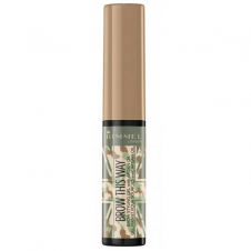 Mascara fixator pentru sprancene blond Rimmel Brow This Way Styling Gel Camo Collection 001 Blonde