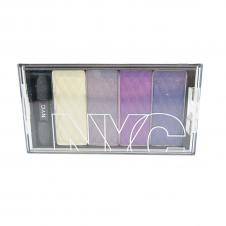 Paleta de farduri New York Color City HD Color Quattro Eyeshadow - Queens Boulevard