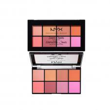 Paleta de farduri pentru obraz NYX Sweet Cheeks Blush Palette