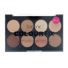 Paleta pentru conturarea fetei Technic Colour Fix Cream Foundation Contour Palette
