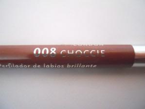 Creion de buze Rimmel Vinil Jelly Gloss - Choccie