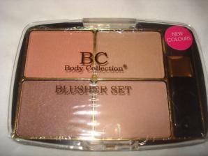 Set blusher-e + pensula Body Collection - English Rose