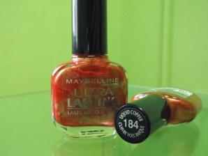 Oja Maybelline Ultra Lasting - Liquid Cooper