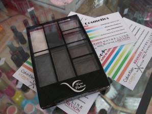 Trusa de farduri Vera Valenti Eyeshadow Palette - Greys