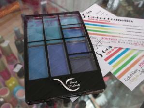 Trusa de farduri Vera Valenti Eyeshadow Palette - Blues