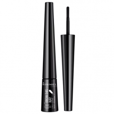 Pudra pentru sprancene negru 3 in 1 Rimmel Brow This Way Soft Powder 004 Soft Black
