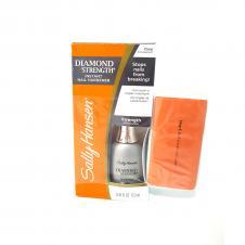 Tratament Tratament Lac fortifiant cu microdiamante Sally Hansen Diamond Strength Instant Nail Hardener Gratuit buffer pentru unghii