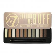 Trusa farduri W7 Colour Me Buff Eyeshadow Palette