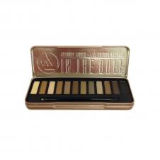 Trusa farduri W7 In the buff: Lightly Toasted Natural Nudes Eye colour Palette