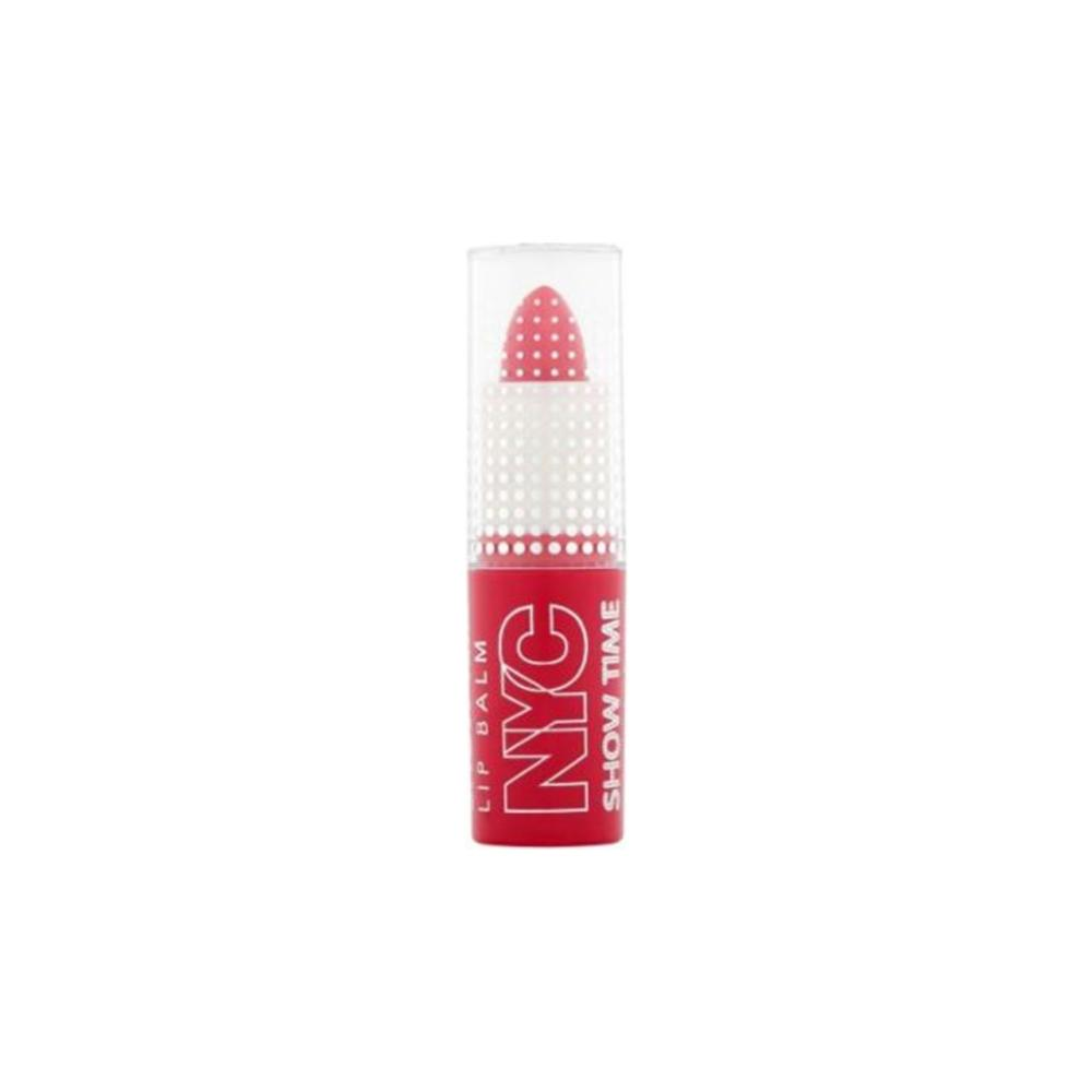 Balsam de buze New York Color Show Time Lip Balm, 300, In Vogue Red, Rosu, 3.2g
