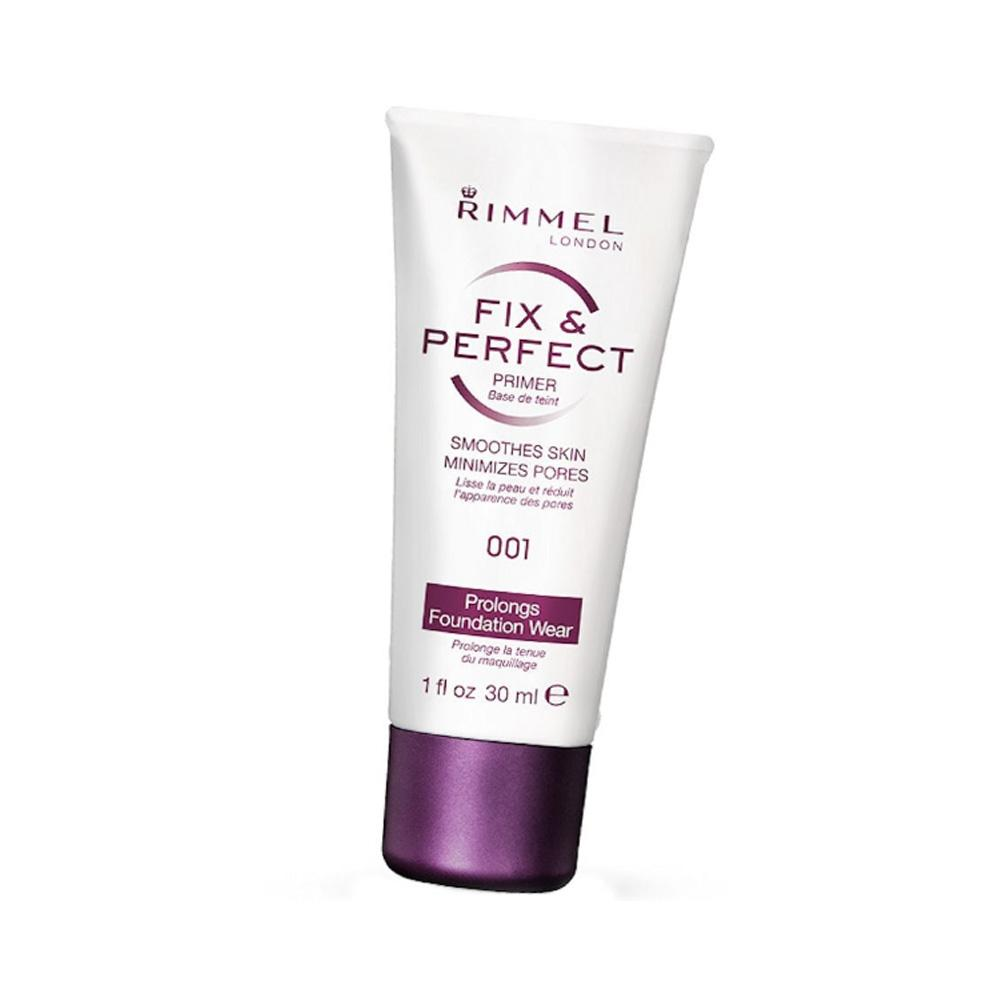 Baza pentru machiaj Rimmel Fix & Perfect Primer - 001