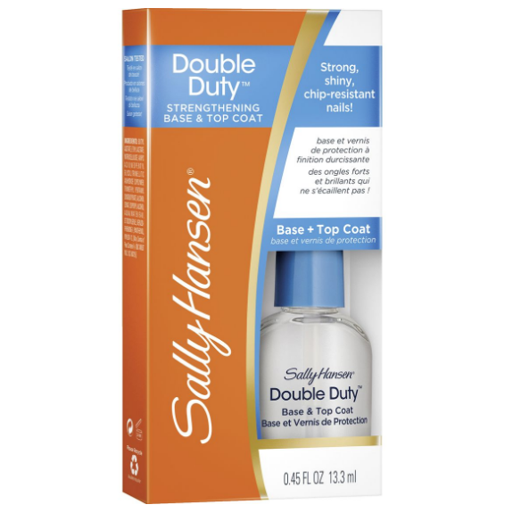 Baza si lac de unghii Sally Hansen Double Duty Strengthening Base & Top Coat