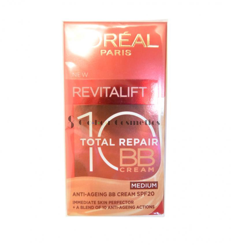 BB cream  L'Oreal Revitalift 10 Total Repair BB Cream - Medium