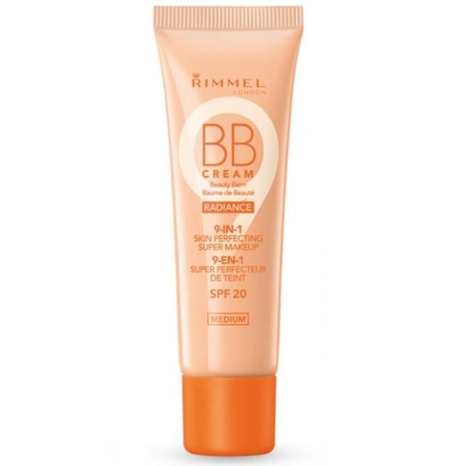 BB cream Rimmel BB Cream Radiance 9 In 1 Make-Up Medium
