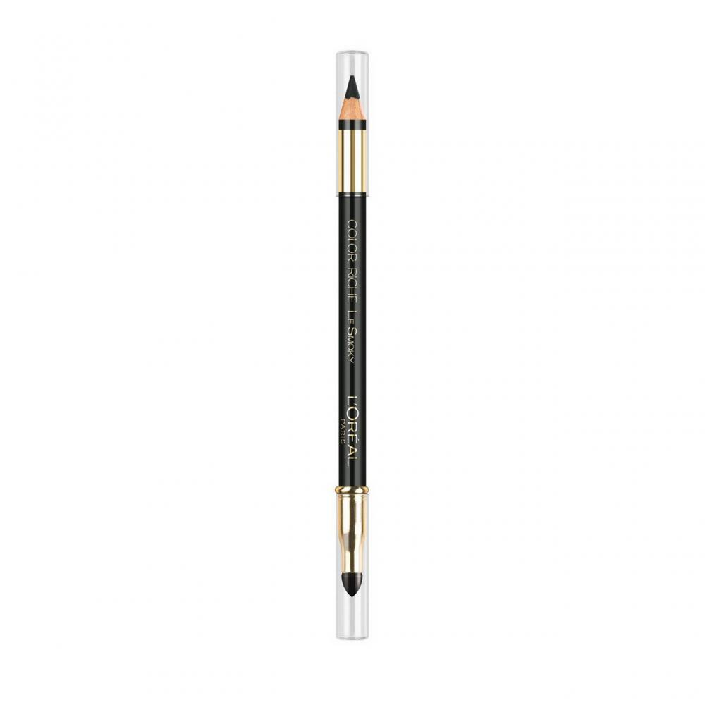Creion contur ochi L'Oreal Color Riche Le Smoky Eyeliner Pencil - Stormy sea