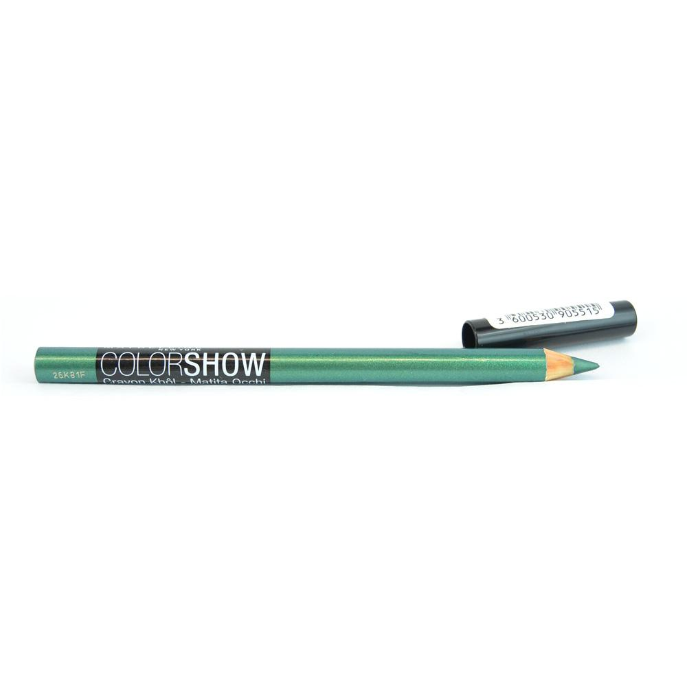 Creion contur ochi Maybelline Khol Eye Liner Pencil Crayon Color Show - Edgy Emerald