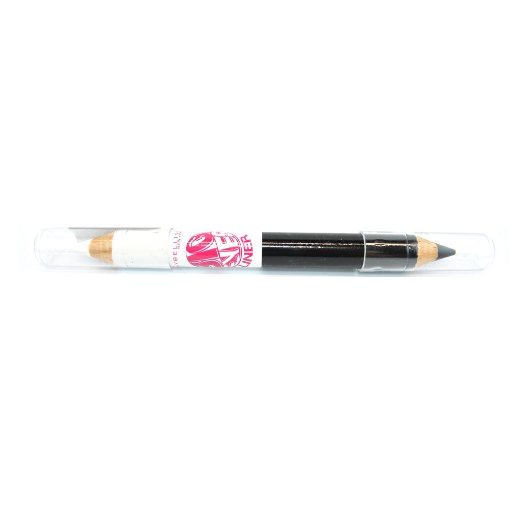 Creion dermatograf Maybelline Big Eyes Liner Pencil White Black