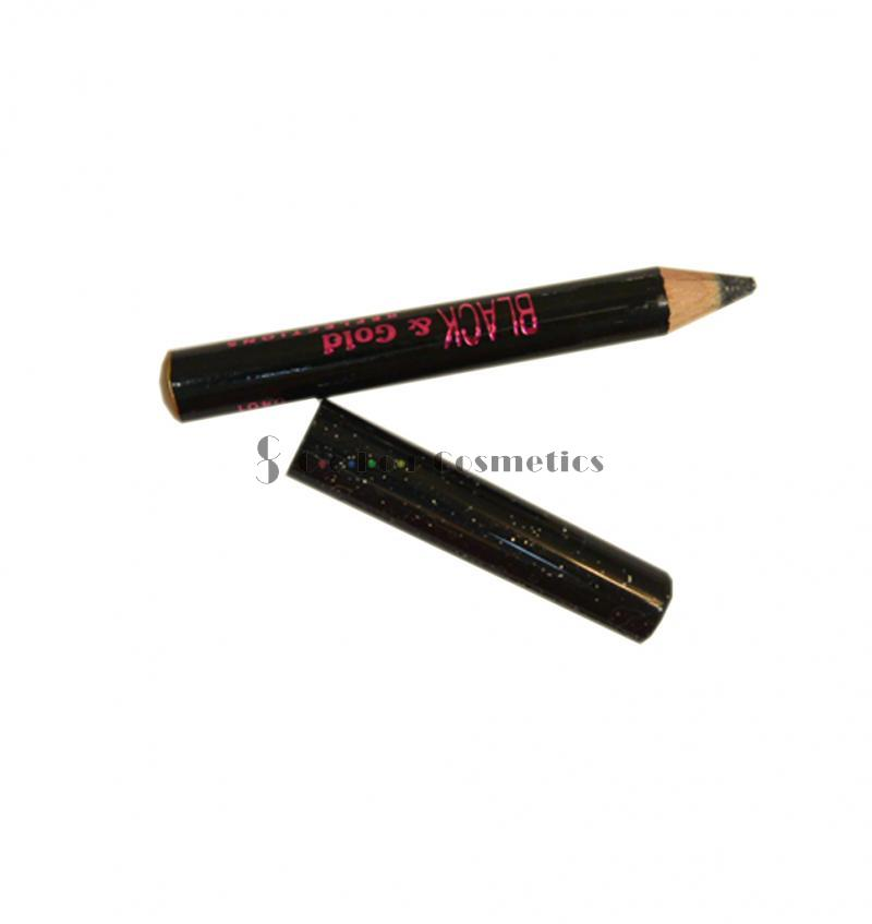Creion dermatograf mini Bourjois Black and Gold Reflexions