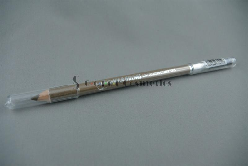 Creion sprancene cu perie W7 Super Brows Super definition Eyebrow Pencil - 01
