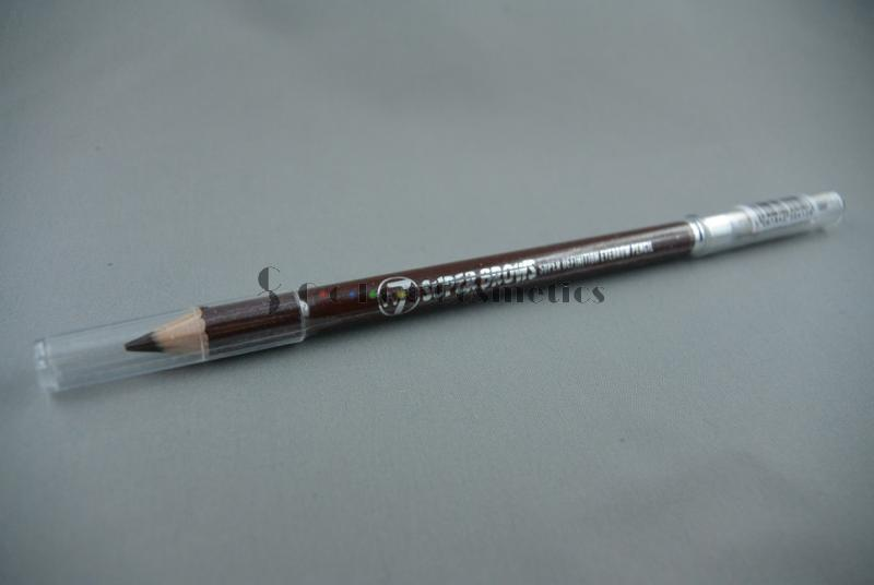 Creion sprancene cu perie W7 Super Brows Super definition Eyebrow Pencil - Brown 02