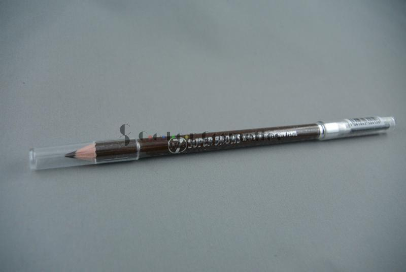 Creion sprancene cu perie W7 Super Brows Super definition Eyebrow Pencil - Brown 1