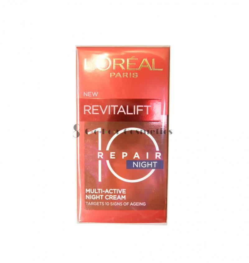 Crema de noapte L'Oreal 10 Revitalift Multi-active Night Cream