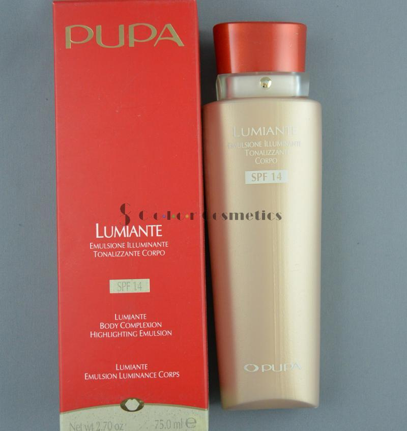 Emulsie iluminanta pentru ten si corp Pupa Body complexion highlighting emulsion