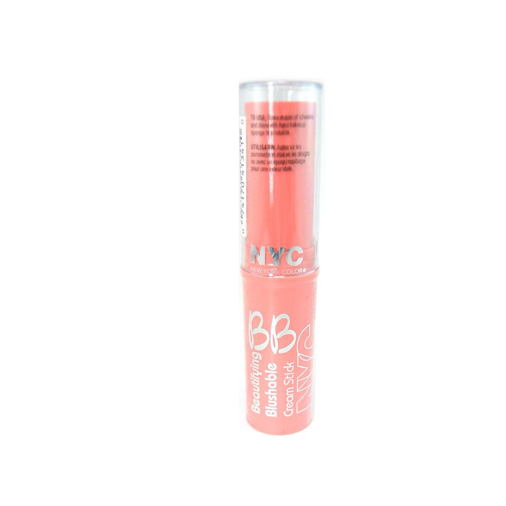 Fard de obraz New York Color Beautifying Blushable Cream Stick - Never Sleeping Pink