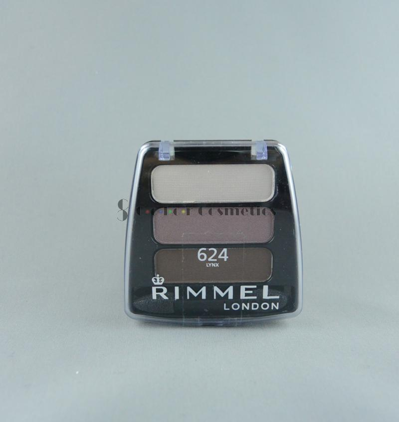 Fard de pleoape Rimmel COLOUR Rush trio Eyeshadow - Lynx