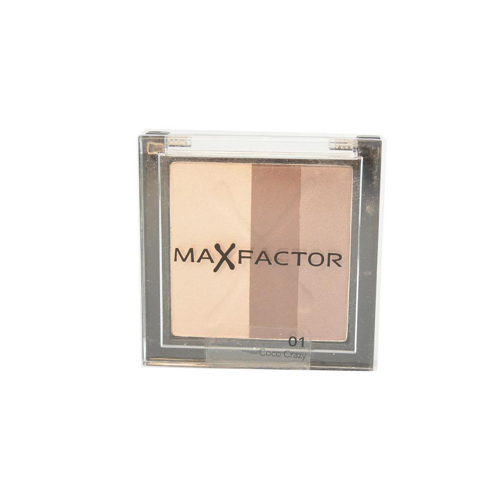 Fard MaxFactor Max Effect Trio Eyeshadows - Coco Crazy
