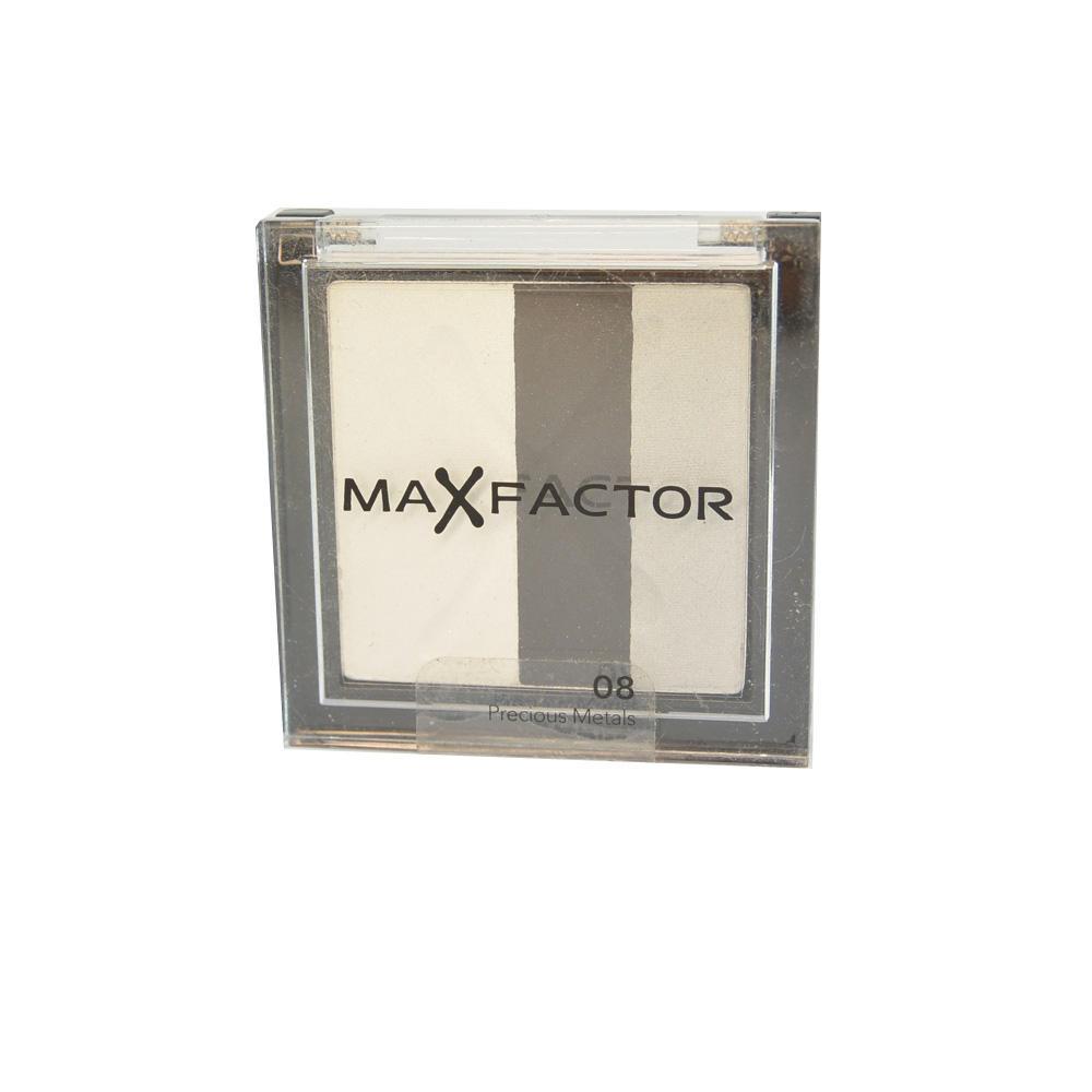 Fard MaxFactor Max Effect Trio Eyeshadows - Precious Metals