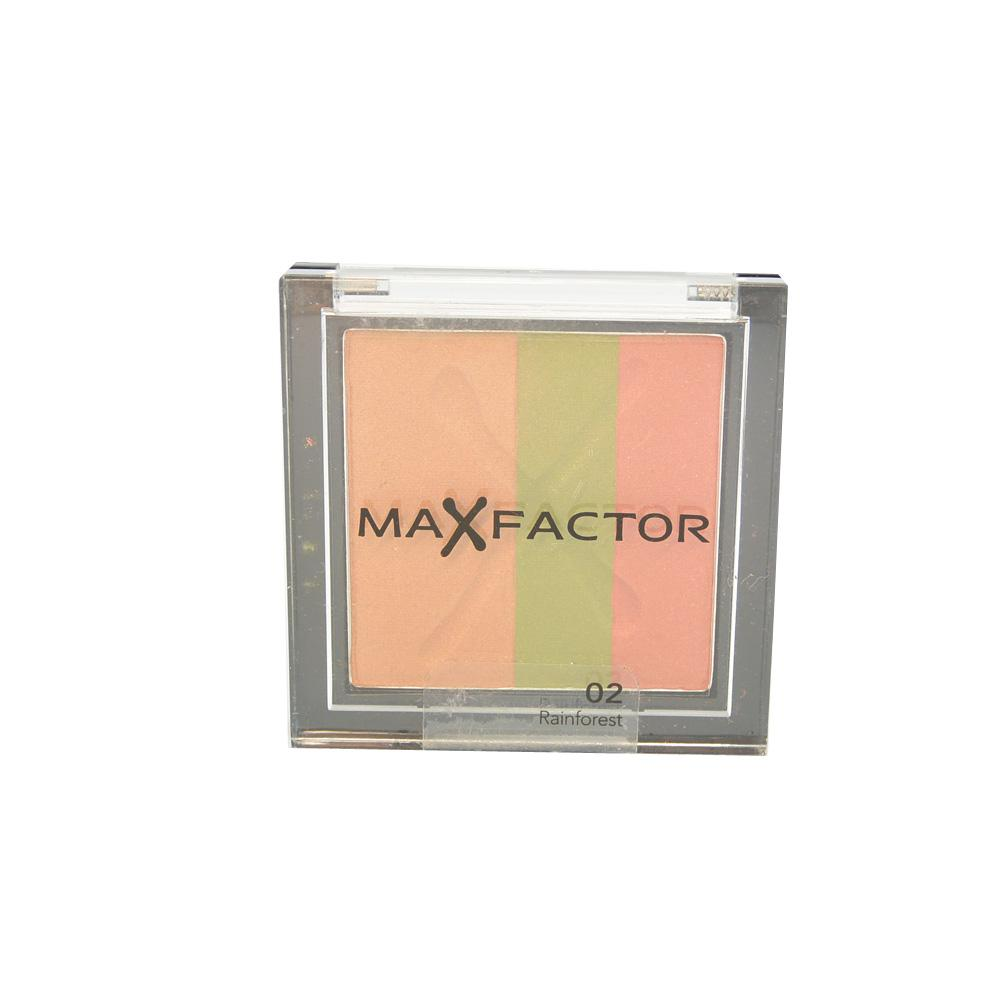 Fard MaxFactor Max Effect Trio Eyeshadows - Rainforest