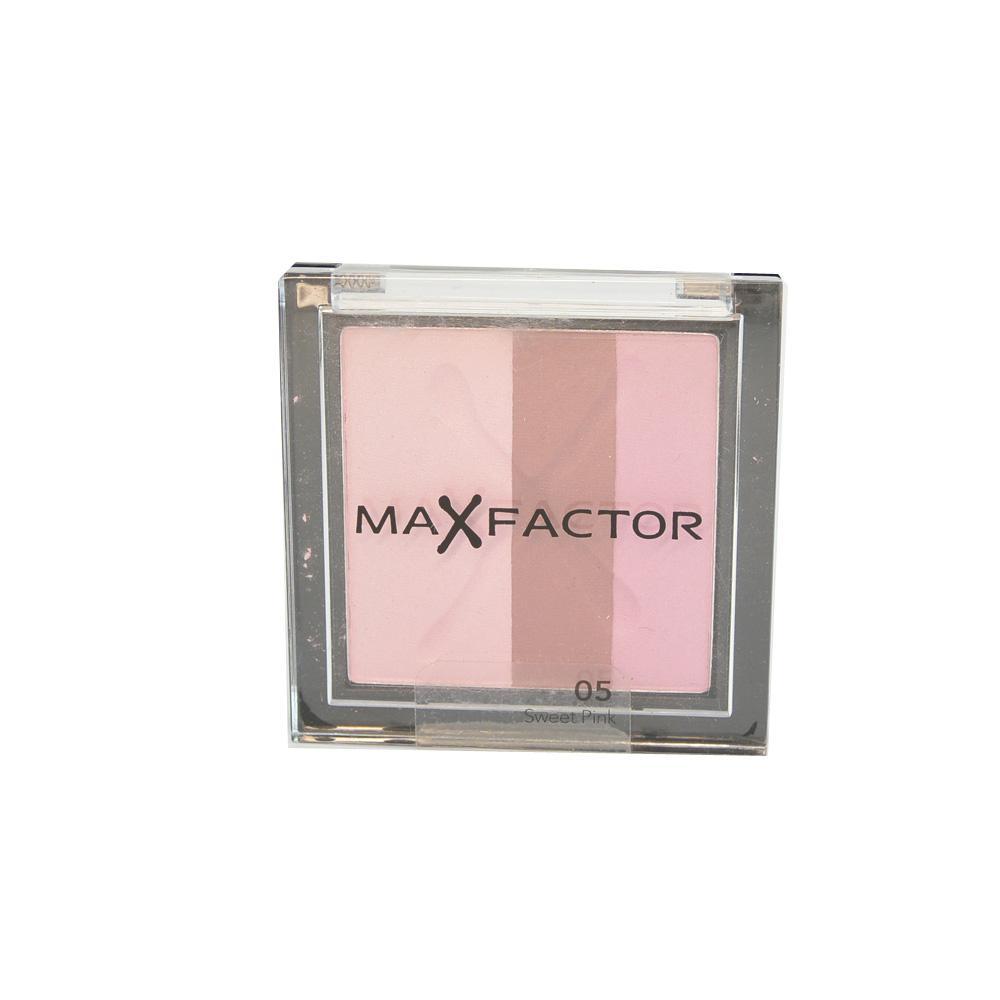 Fard MaxFactor Max Effect Trio Eyeshadows - Sweet Pink