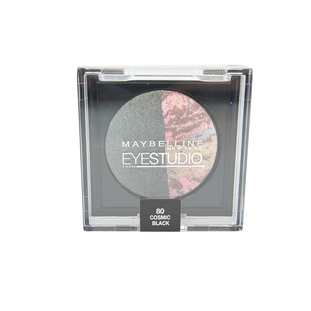 Fard Maybelline EyeStudio Baked Duo Eyeshadow - Cosmic Black