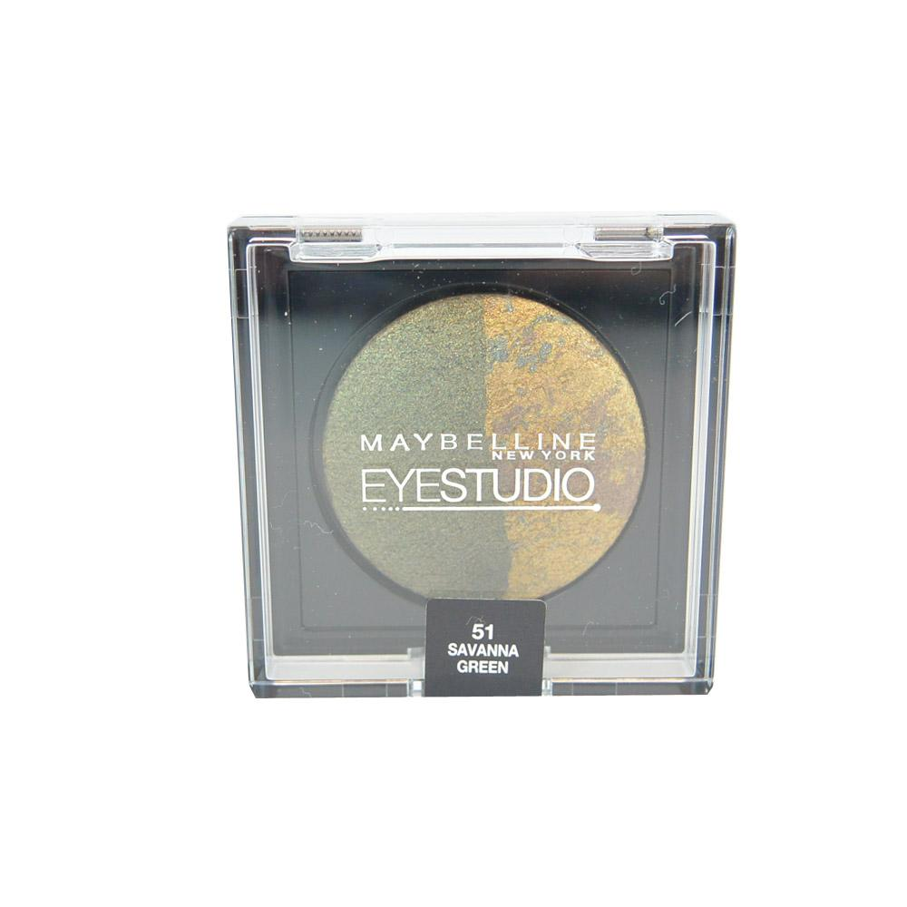 Fard Maybelline EyeStudio Cosmos Duo - Savanna Green