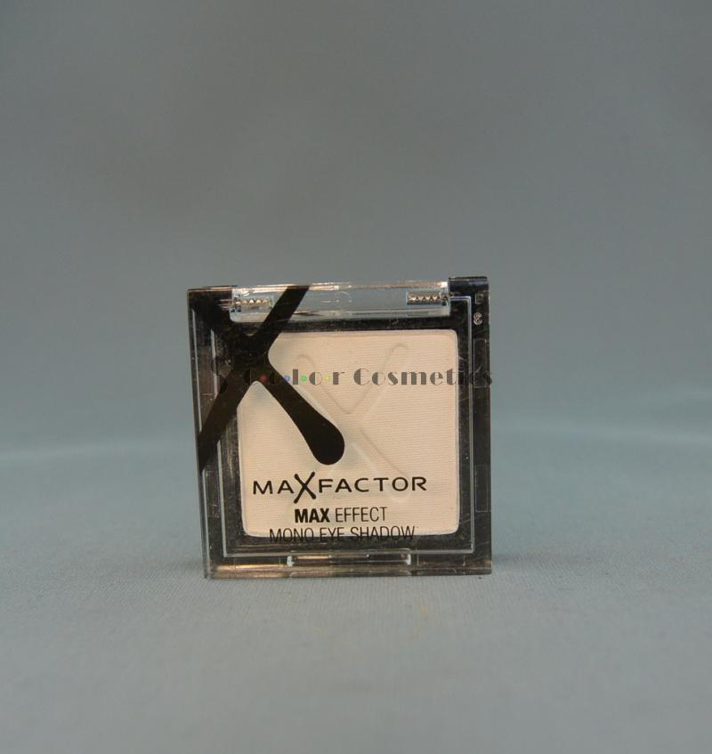 Fard mono MaxFactor Max Effect Mono Eye Shadow -  White satin