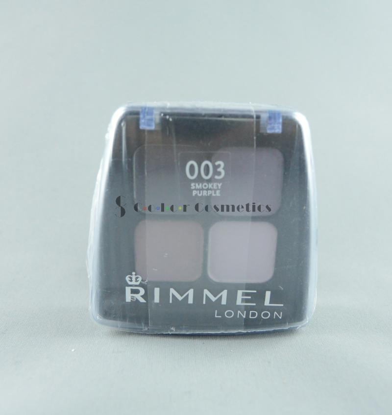 Fard Rimmel Colour Stay Quad - Smokey Purple