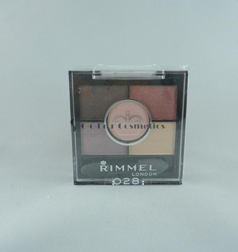 Fard Rimmel Glam eyes HD 5 COLOUR Eyeshadow - Burgundy Palace