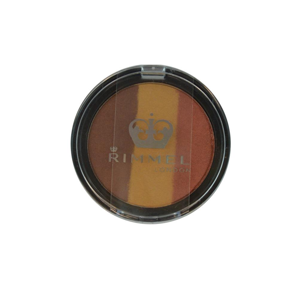 Fard Rimmel Three-Sum Eyeshadow - Steamy